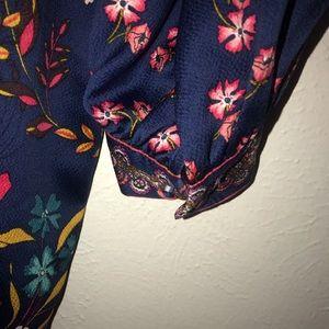 LOFT Dresses - Blue floral dress